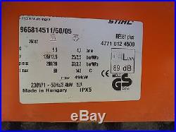 Nettoyeur haute pression STIHL RE551 PLUS karcher