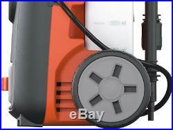 Nettoyeur haute pression eau chaude Black+Decker laveur décapeur 110 bars 1400W