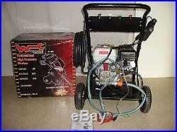 Nettoyeur haute pression thermique 3000 PSI WURGBURG