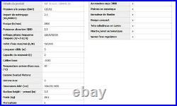 Nilfisk Alto Nettoyeur Haute Pression 120 bar 2300W 520l/h enrouleur + lance
