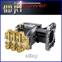 Pompe moteur thermique Hawk 250 bar pour 17 trs/min nettoyeur haute pression