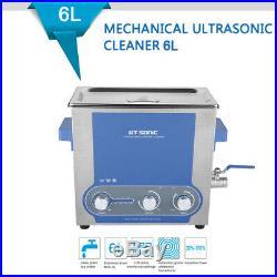 Professional 40KHz 6L Nettoyeur à ultrasons Réglage de la minuterie de chauffage