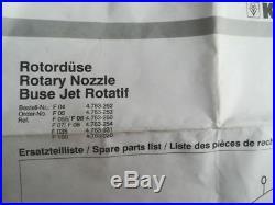 Rotabuse KARCHER taille 50 max 300 bar 85 °C 185 ° C nettoyeurs haute PRESSION