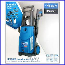 Scheppach Haute Pression HCE2600 180 BAR Zubehoerset Nettoyant de Surface 230V
