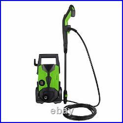 TOPZONE Nettoyeur Haute Pression 1700W, Max. 135Bar, 450L/H électrique Power