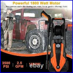 TOPZONE Nettoyeur Haute Pression électrique 1900 W, Max. 150Bar, 450L/H, Laveuse
