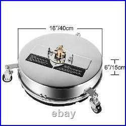 VEVOR 1250-4000 PSI Nettoyant de Surfaces Pour Nettoyeur Haute Pression Terrasse
