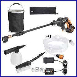 Worx wg629e. 1 Nettoyeur haute pression Hydro Shot Kit