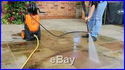 Yard Force Nettoyeur Haute Pression 150 Bar/ 2000W idéal pour nettoyer Terr