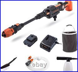Yard Force Nettoyeur Haute-Pression Aquajet 22Bar 20V Sans Fil Avec Batterie Li