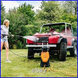 Yard Force Nettoyeur Haute Pression pour usage intensif, 150 Bar 2000W avec